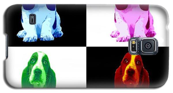 Basset Hound Puppy 4 Colors Galaxy S5 Case