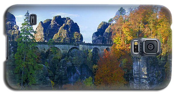 Bastei Bridge In The Elbe Sandstone Mountains Galaxy S5 Case