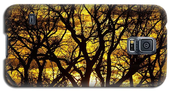 Galaxy S5 Case featuring the photograph Bastrop Sunset by James Granberry