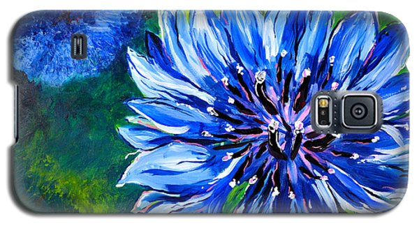 Batchelor Button Flower Galaxy S5 Case by Lisa Fiedler Jaworski