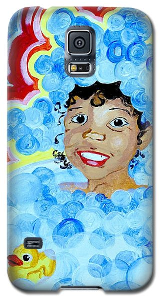 Bath Time Galaxy S5 Case