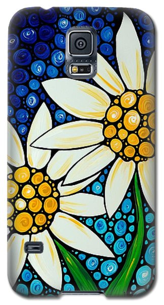 Bathing Beauties - Daisy Art By Sharon Cummings Galaxy S5 Case by Sharon Cummings