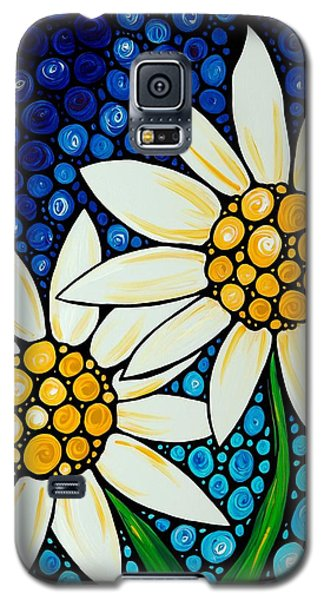 Daisy Galaxy S5 Case - Bathing Beauties - Daisy Art By Sharon Cummings by Sharon Cummings