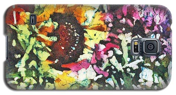 Batik Sunflower 1 Galaxy S5 Case