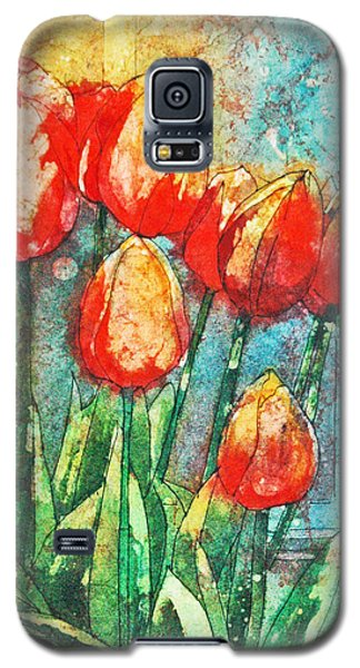 Batik Tulips Galaxy S5 Case
