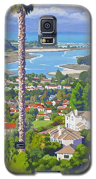 Batiquitos Lagoon 2014 Galaxy S5 Case by Mary Helmreich