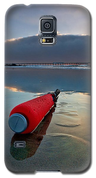 Batter-ed By The Sea Galaxy S5 Case by Peter Tellone
