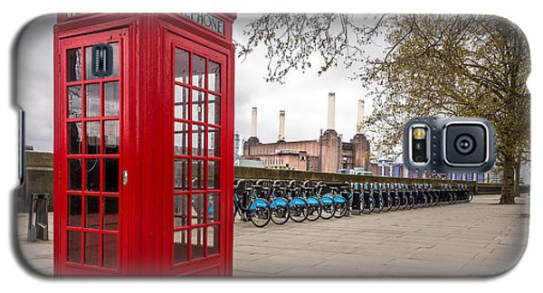 Battersea Phone Box Galaxy S5 Case by Matt Malloy