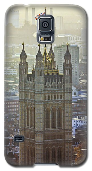 Battersea Power Station And Victoria Tower London Galaxy S5 Case