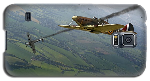 Battle Of Britain Dogfight Galaxy S5 Case by Gary Eason