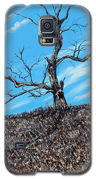 Galaxy S5 Case featuring the painting Battle Scars by Meaghan Troup