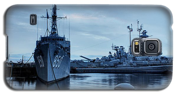 Battleship Cove Galaxy S5 Case by Andrew Pacheco