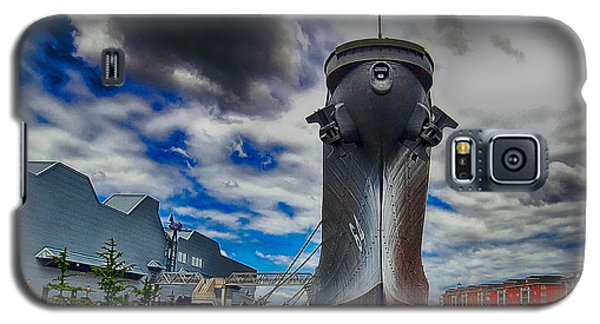 Battleship Wisconsin Galaxy S5 Case