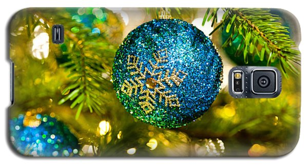Bauble In A Christmas Tree  Galaxy S5 Case