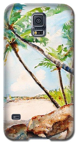 Bavaro Tropical Sandy Beach Galaxy S5 Case