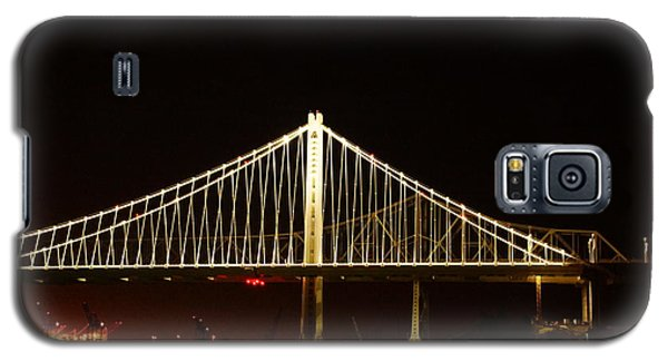 Bay Bridge At Night Galaxy S5 Case