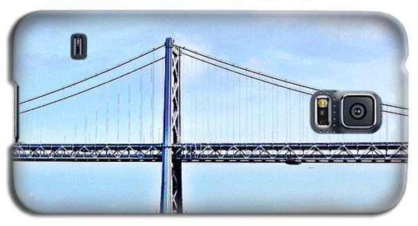 Place Galaxy S5 Case - Bay Bridge by Julie Gebhardt