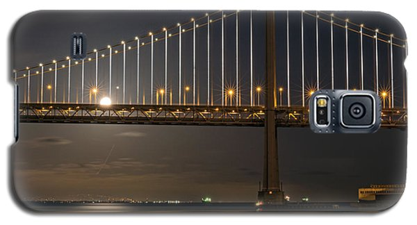 Bay Bridge Moon Rising Galaxy S5 Case