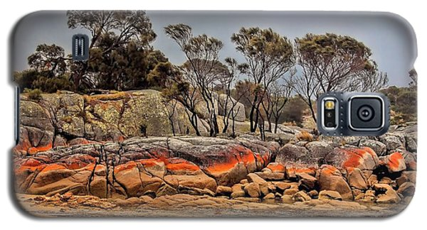 Galaxy S5 Case featuring the photograph Bay Of Fires 2 by Wallaroo Images