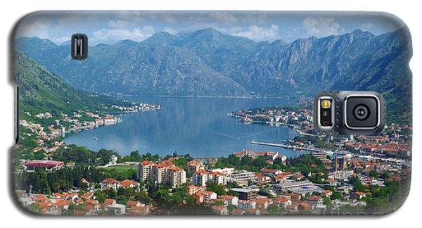 Bay Of Kotor - Montenegro Galaxy S5 Case