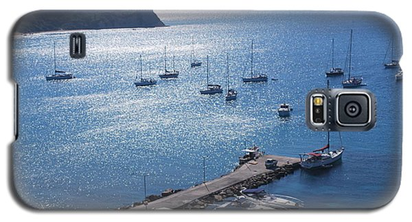 Galaxy S5 Case featuring the photograph Bay Of Porto by George Katechis