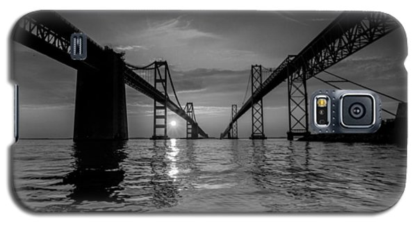 Galaxy S5 Case featuring the photograph Bay Bridge Strength by Jennifer Casey