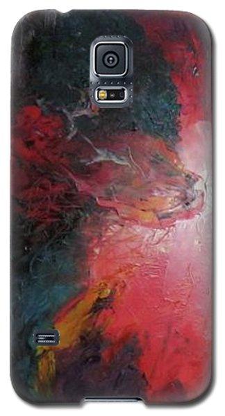 Bayley - Exploding Star Nebuli Galaxy S5 Case