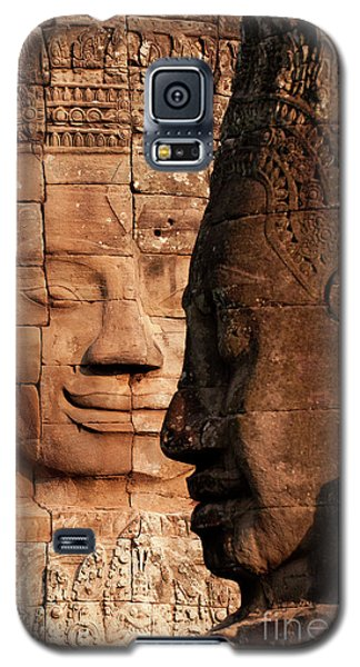 Bayon Faces 02 Galaxy S5 Case
