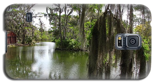 Galaxy S5 Case featuring the photograph Bayou by Beth Vincent