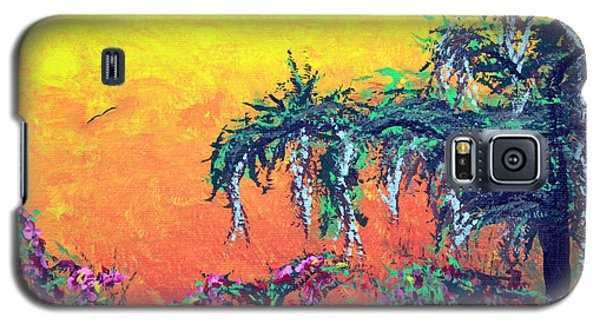 Galaxy S5 Case featuring the painting Bayou Honeymoon by Alys Caviness-Gober