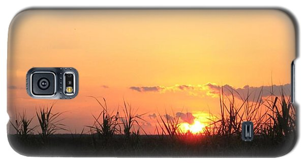 Galaxy S5 Case featuring the photograph Bayou Sunset by John Glass
