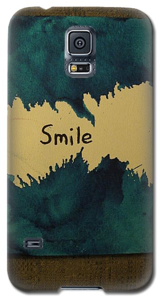 Be Happy In A Stormy Sea Galaxy S5 Case by Lawrence Christopher