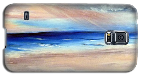 Galaxy S5 Case featuring the painting Be Near by Meaghan Troup