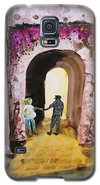 Galaxy S5 Case featuring the painting Be Safe by Keith Thue