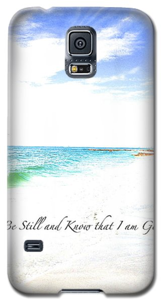Galaxy S5 Case featuring the photograph Be Still #3 by Margie Amberge