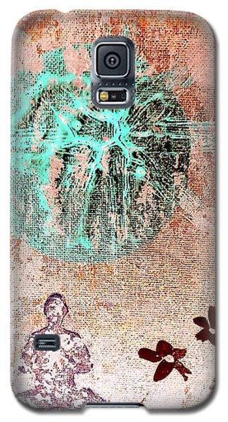 Galaxy S5 Case featuring the painting Be The Buddha by Jacqueline McReynolds