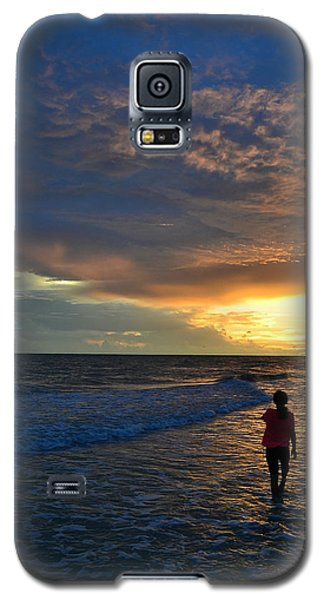 Galaxy S5 Case featuring the photograph Be Wonderful... Because You Are by Melanie Moraga