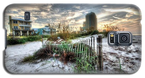 Beach And Buildings Galaxy S5 Case