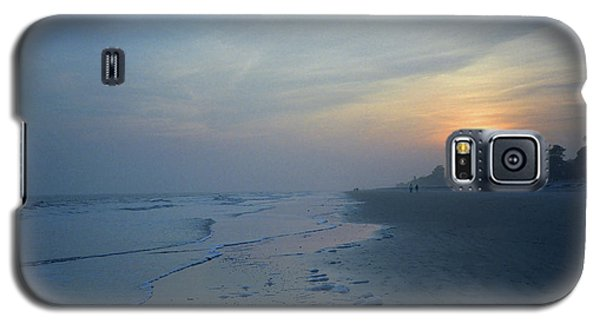 Beach And Sunset Galaxy S5 Case
