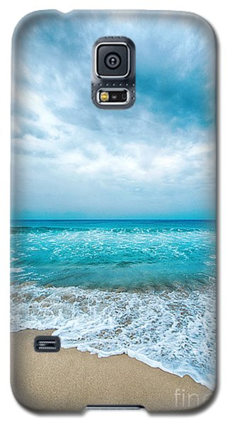 Beach And Waves Galaxy S5 Case