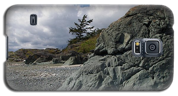 Beach At Fort Rodd Hill Galaxy S5 Case