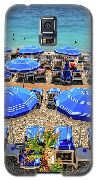 Beach At Nice France Galaxy S5 Case