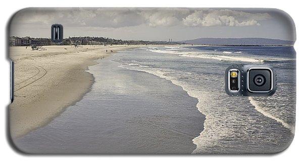 Beach At Santa Monica Galaxy S5 Case