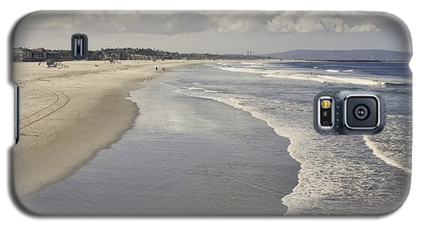 Beach At Santa Monica Galaxy S5 Case