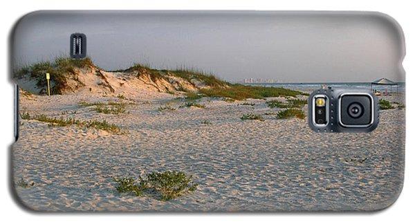 Beach At Sunrise Galaxy S5 Case