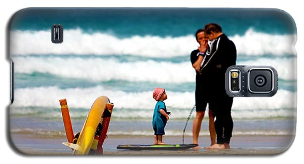 Beach Baby Galaxy S5 Case by Terri Waters