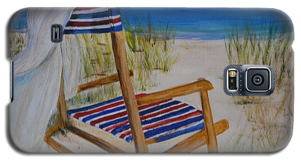 Beach Chair Galaxy S5 Case