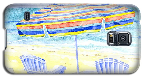 Beach Chairs Galaxy S5 Case