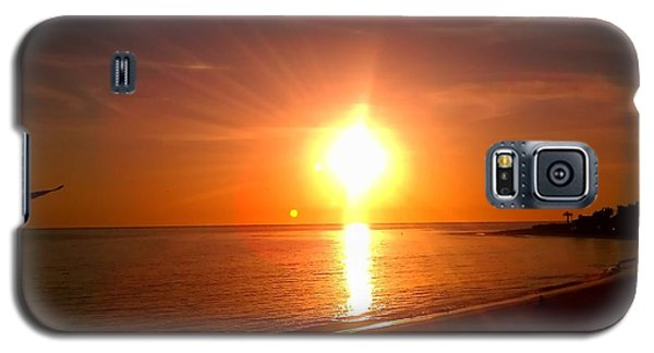 Galaxy S5 Case featuring the photograph Beach by Chris Tarpening