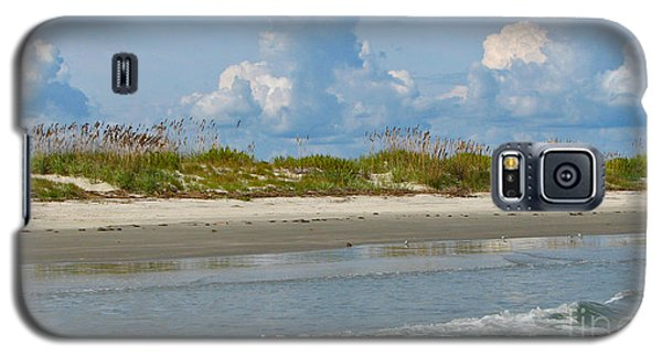 Beach Clouds Galaxy S5 Case